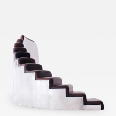 Valentin Loellmann Steps 1x12 screen sculpture