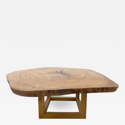 Valeria Totti Organic Dining Table by Valeria Totti Reclaimed Wood from the Brazilian Amazon