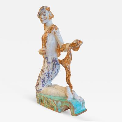 Vally Wieserlthier Huge Vally Wieselthier Wiener Werkst tte Ceramic Figure