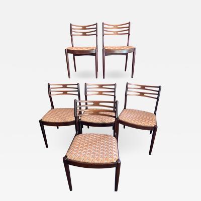 Vamo S nderborg Set of 6 Mid Century Modern Vamo Sonderborg Chairs