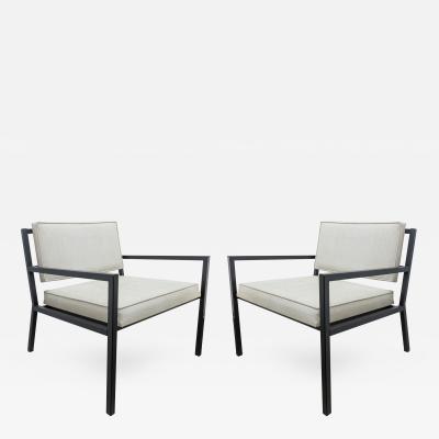 Van Keppel Green Pair of Van Keppel Green Low Club Lounge Chairs