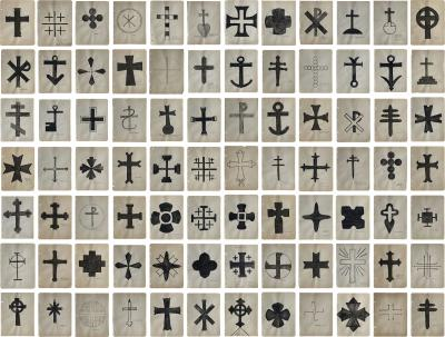 Variations of the Cross Mrs George Dunham