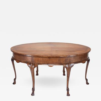 Venetian 18th Century Oval Center or Dining Table