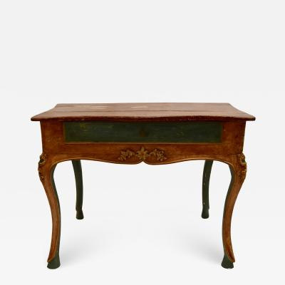 Venetian Console Game Table