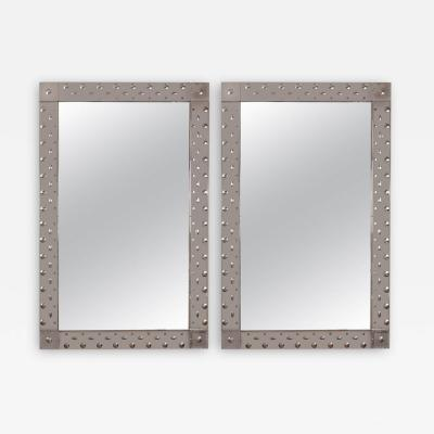 Venetian Etched Bubble Mirror 2 Available Contemporary