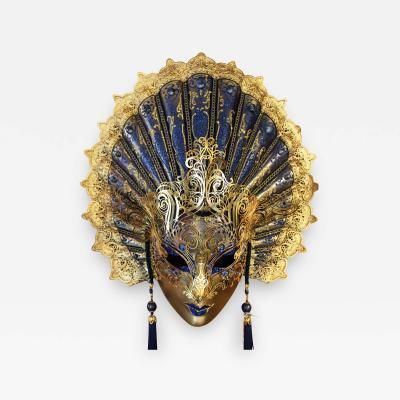 Venetian Laboratory - Blue Venetian Wall Mask