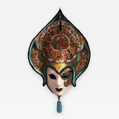 Venetian Laboratory Hand Painted Venetian Mask