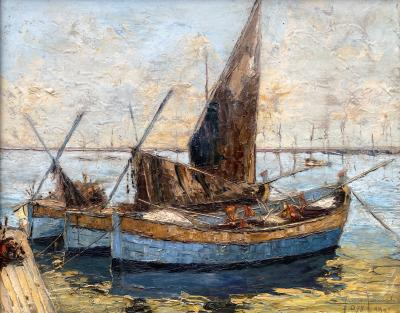 Venice Fishing Boats