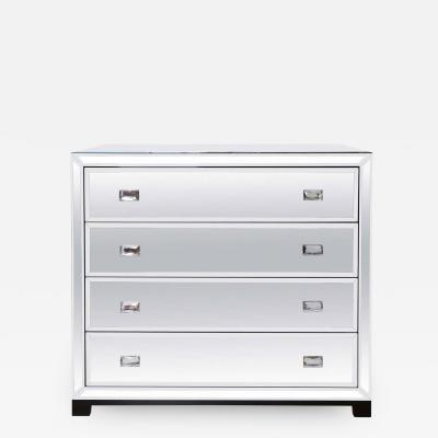Venice chest of drawers with crystal handles