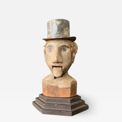 Ventriloquist Dummy carved Head