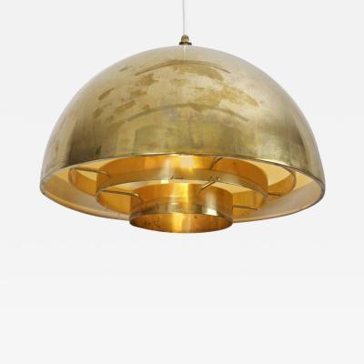 Vereinigte Werksta tten 1 of 2 Brass Chandelier or Pendant Light by Vereinigte Werkst tten M nchen