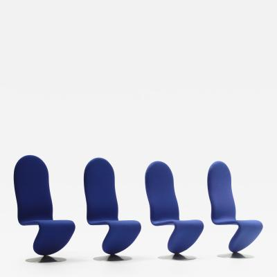 Verner Panton 123 System Chairs by Verner Panton