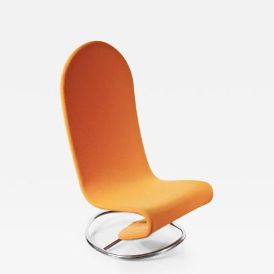 Verner Panton 1970s Rare Verner Panton 1 2 3 Rocking Easy Chair