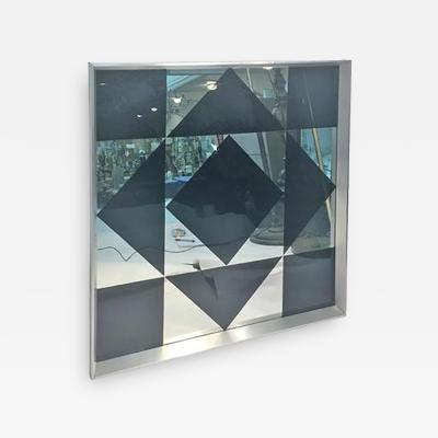 Verner Panton Dramatic Verner Panton Pop Art Geometric Mirror