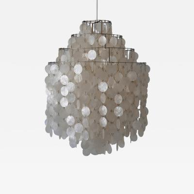 Verner Panton Early Pendant Lamp or Chandelier FUN 0DM by Verner Panton for L ber CH 1960s
