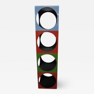 Verner Panton Fun Panton Inspired Stacking Cube Etagere Mid century Modern