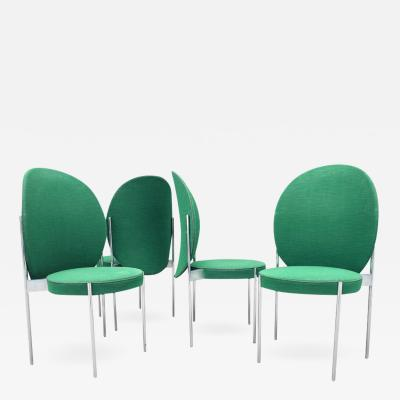 Verner Panton Mid Century Chairs by Verner Panton for Thonet