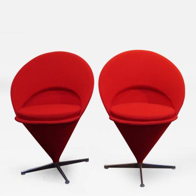 Verner Panton Pair of chairs