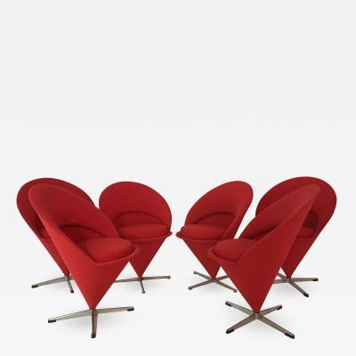 Verner Panton Verner Panton Cone Chairs