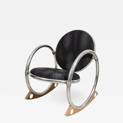 Verner Panton Verner Panton Dondolo for Ycami Rocking Chair