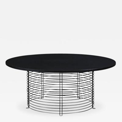 Verner Panton Verner Panton Model 421P Round Coffee Table