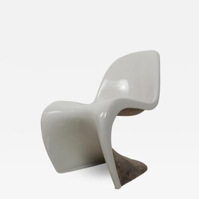 Verner Panton Vintage Modern Fiberglass Verner Panton S Chair for Herman Miller