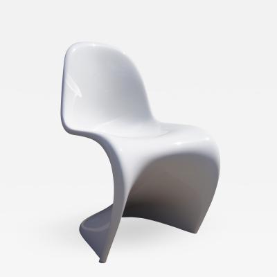 Verner Panton White Panton Chair by Verner Panton forVitra