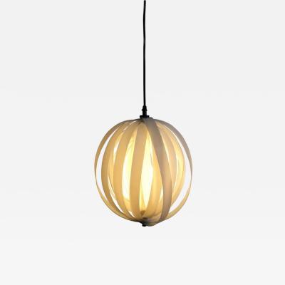 Verner Panton White Spherical Moon Pendant Lamp Edited by MoMA