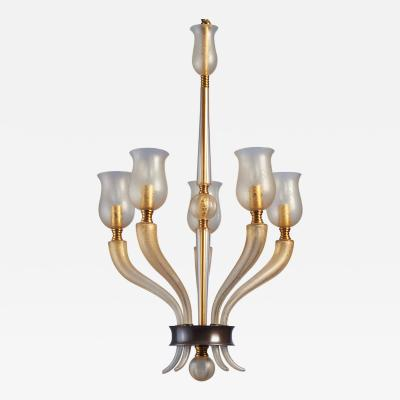Veronese Exceptional Murano Glass Chandelier by Veronese