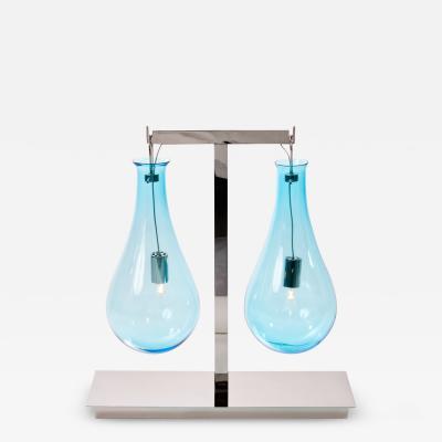 Veronese Veronese Drop Double Light Table Lamp