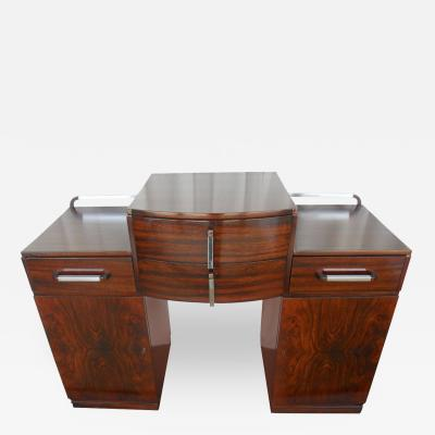 Versatile Art Deco Console with Drawers
