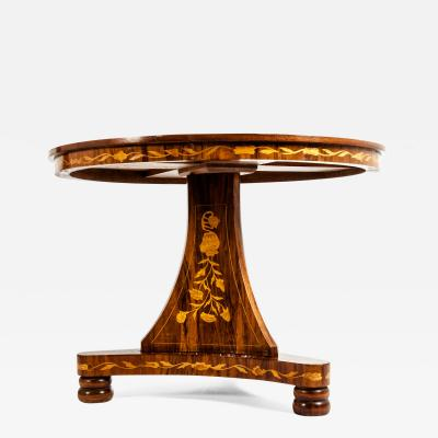 Very Fine 19th Century Dutch Marquetry Table