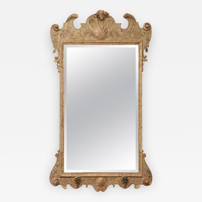 Very Fine George I Gilt Gesso Carved Mirror