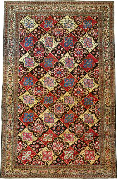 Very Fine weave Persian rug measuring 12 ft 6 in x 19 ft 8 in