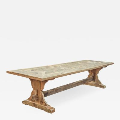 Very Long Rustic Dining Table