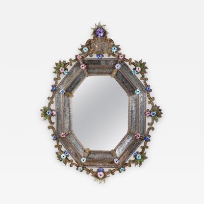 Very Rare 18th Century Venetian Mirror