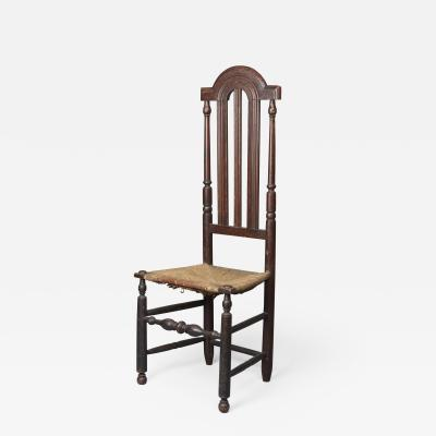 Very Rare Bannister Back Side Chair