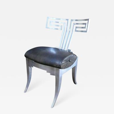Very Rare John Vasey Aluminum Chair