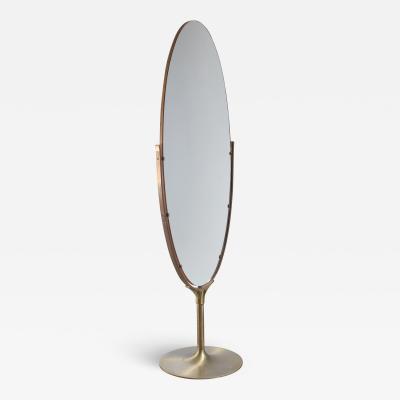 Very large 187 cm high floor mirror
