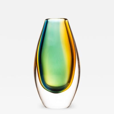 Vicke Lindstrand Vase Produced by Kosta