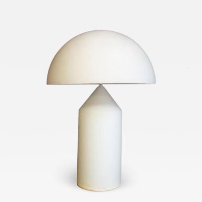 Vico Magistretti Adjustable glass Atollo lamp by Vico Magistretti for Oluce 1969