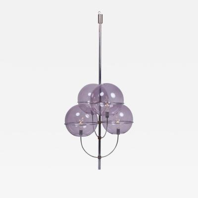 Vico Magistretti Ceiling Lamp Lyndon by Vico Magistretti for O Luce Italy 1970s
