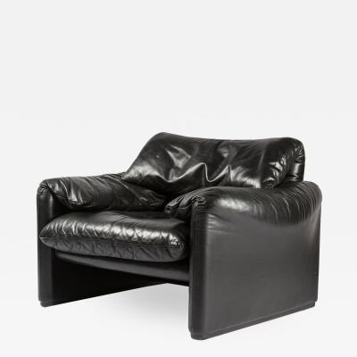 Vico Magistretti Maralunga Lounge Chair by Vico Magistretti for Cassina