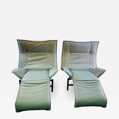 Vico Magistretti PAIR OF VERANDA LOUNGE CHAIRS DESIGNED BY VICO MAGISTRETTI