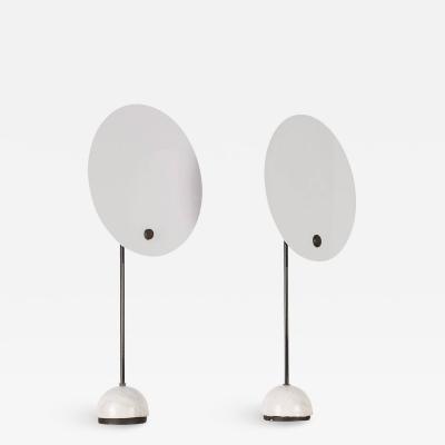 Vico Magistretti Rare Set of Two Kuta Table Lamps by Vico Magistretti for Oluce