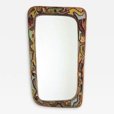 Victor Cerrato Mirror in Ceramic