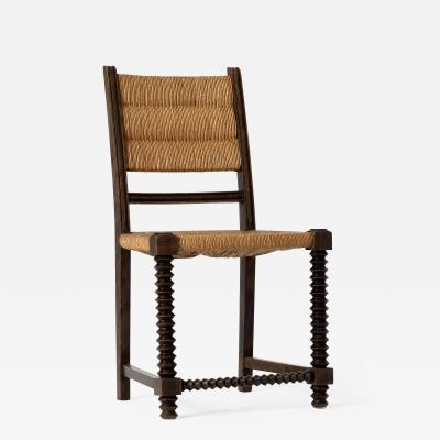 Victor Courtray Art Deco Chair by Victor Courtray