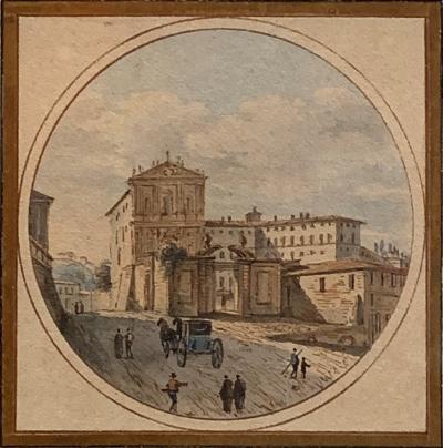 Victor Jean Nicolle Arch of Septimus Severus Piazza Monte Magnanapoli