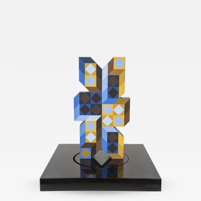 Victor Vasarely Signed Victor Vasarely Sculpture