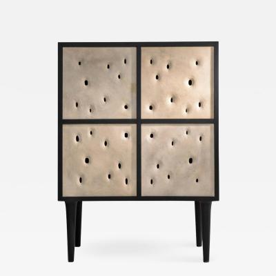 Victoria Yakusha Ceramic Contemporary Bar Cabinet